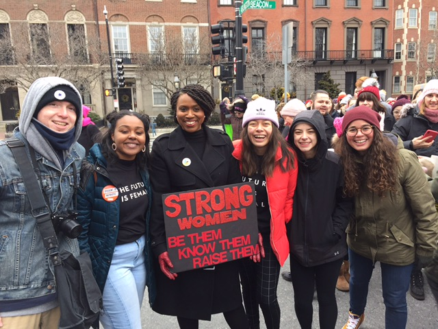 Boston Women's March 2019 with Ayanna Pressley